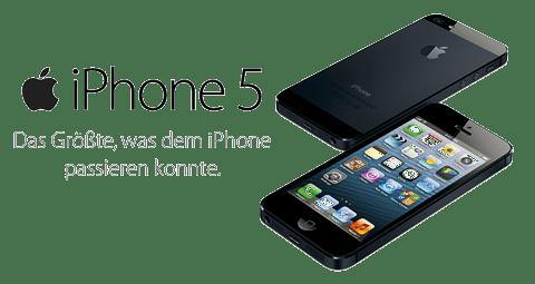 Das iPhone 5 und die frische iPod Familie