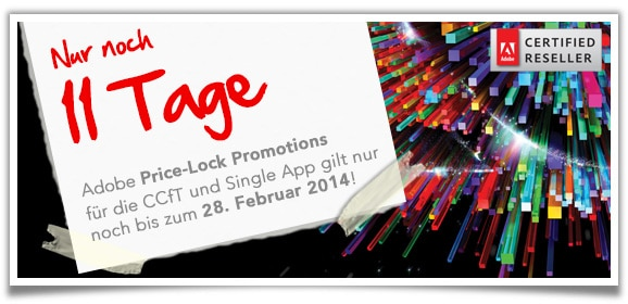 Adobe Creative Cloud für Teams Promotions