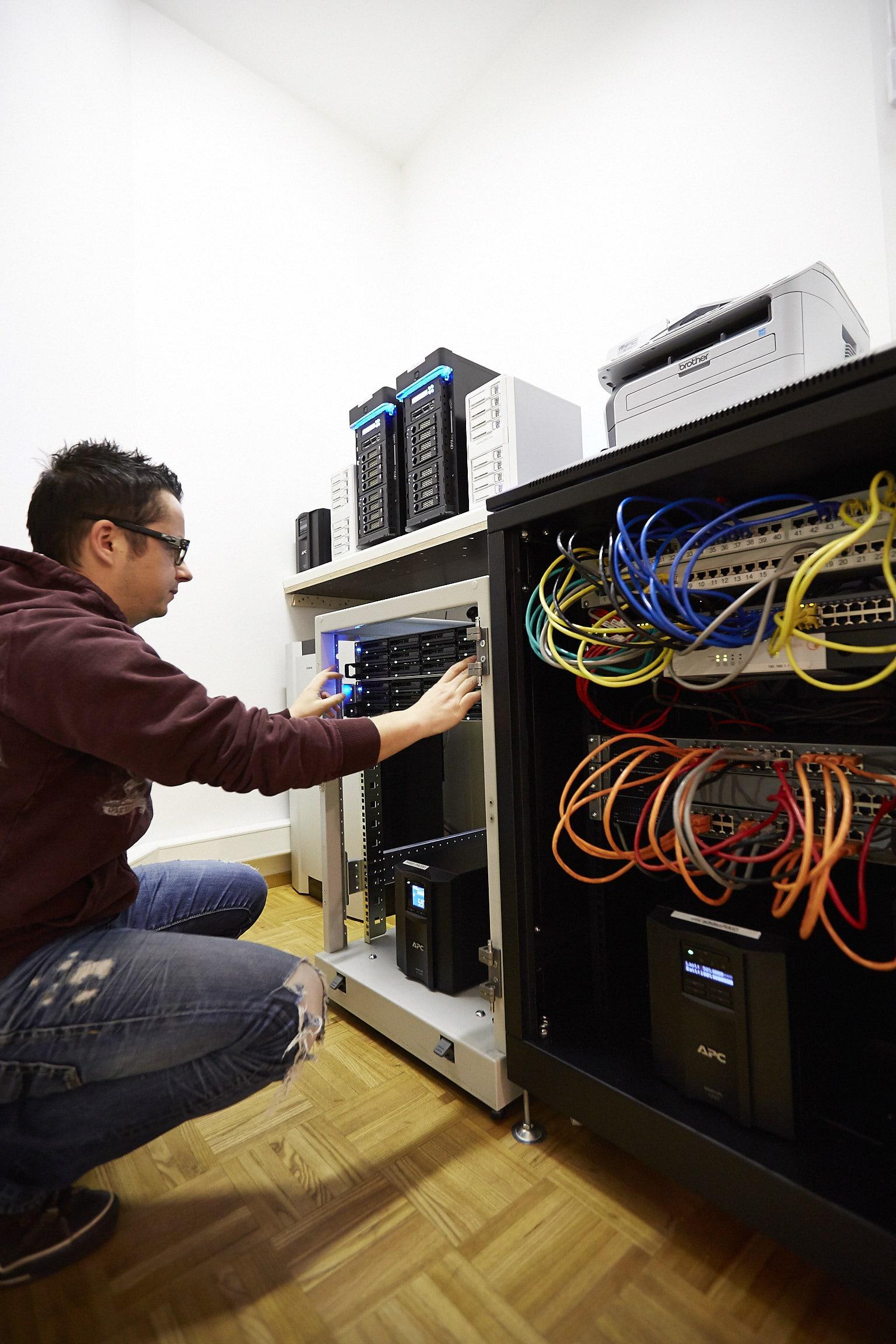 72 TB NAS System im Cluster